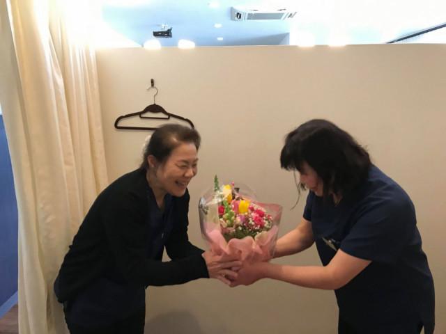 新田さんからの誕生日プレゼント