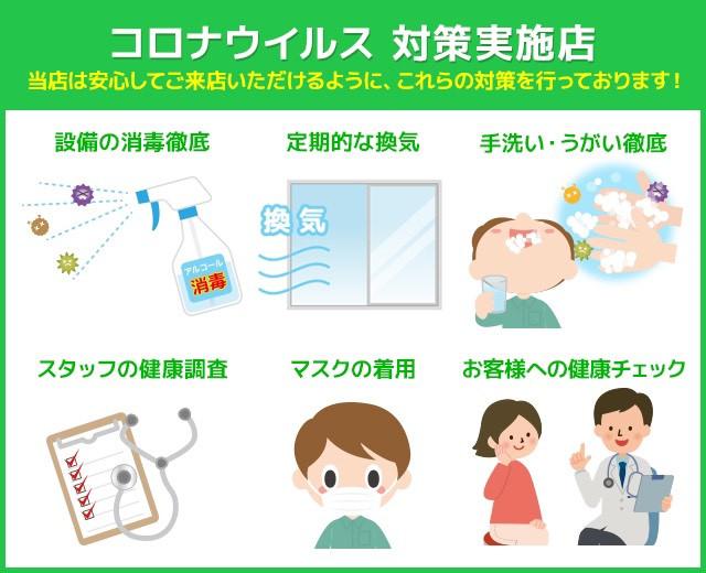 新型コロナウイルスの対策